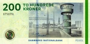 Knippelsbro er valgt til motiv på forsiden af den nye 200-kroner seddel, udgivet af Danmarks Nationalbank den 19. oktober 2010.
