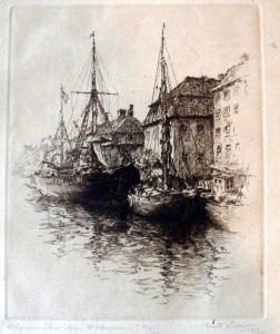 chr-havns kanal med kvæsthuset i baggrunden