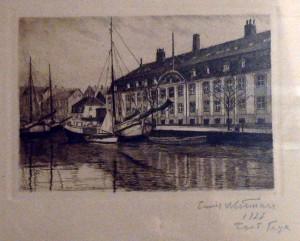 chr-havns kanal med søkvæsthuset