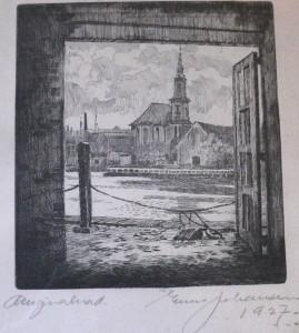 christians kirken chr-havn set fra christians brygge