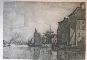 parti fra havnen og brogade chr-havn th.