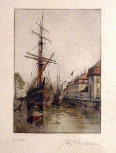 skibe i chr-havns kanal og kvæsthuset