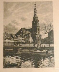 vor frelser kirke set fra kanalen